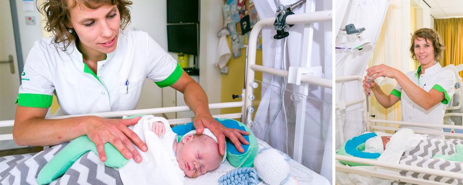 Buidelen met je baby in het ziekenhuis