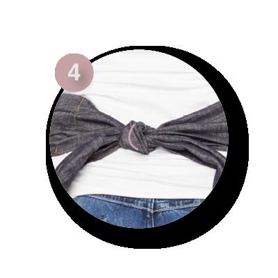 Mei Tai draagdoek | ByKay instructies