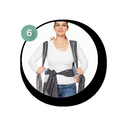 Mei Tai rug dragen | ByKay instructies