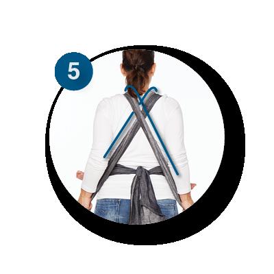 Mei Tai buik dragen | ByKay Instructies