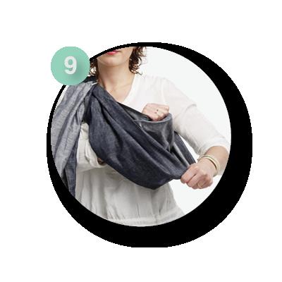 Ringsling draagdoek | ByKay Instructies