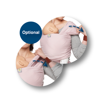 Stretchy Wrap draagdoek | ByKay Instructies