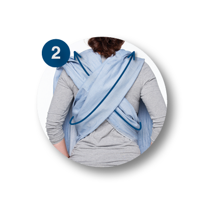 Woven Wrap draagdoek | ByKay Instructies